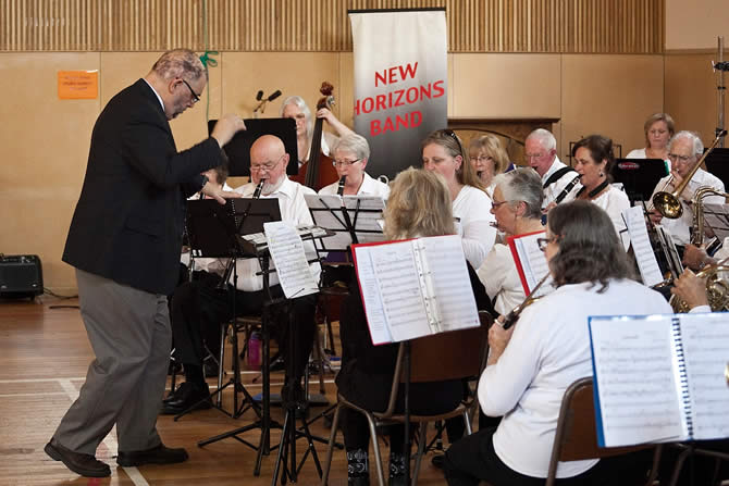 New Horizons Concert Band at Tecoma Uniting Church