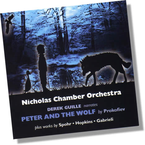Nicholas Chamber Orchestra Peter and the Wolf CD cover