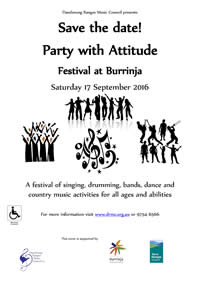 Party with Attitude flyer