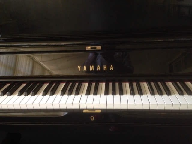 Yamaha piano at DRMC venue
