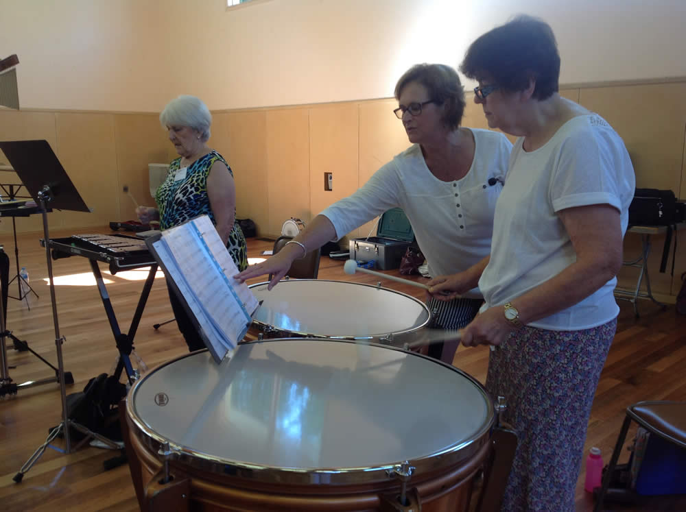New Horizons Band workshop