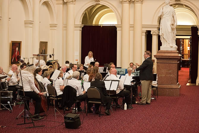 New Horizons Concert Band at Parliament House